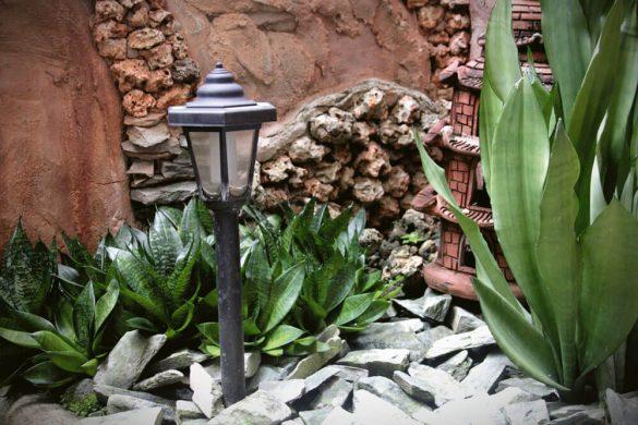 Φωτισμός και εφέ στον κήπο